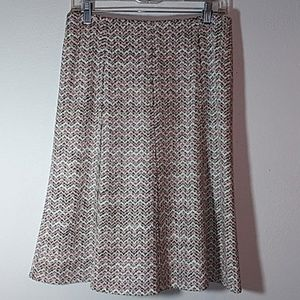 NWOT A.K.R.I.S Pencil colorful skirt.